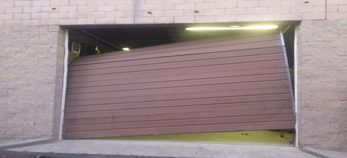 out of tracks overhead door repair - Garage Door Off Track